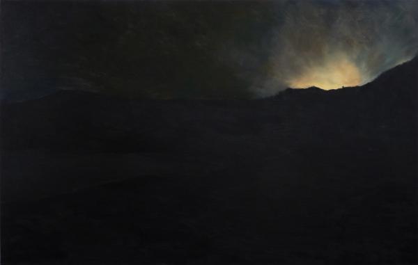 huile sur toile, 120x180cm