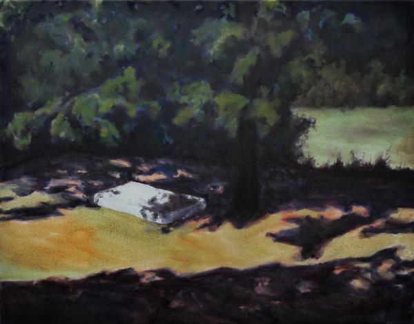 huile sur toile, 45x60cm