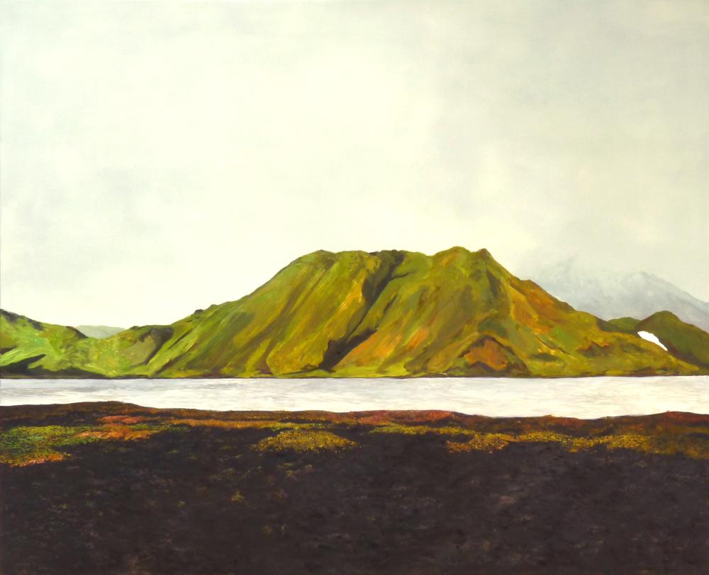 130 x 160 cm, huile sur toile, 2016