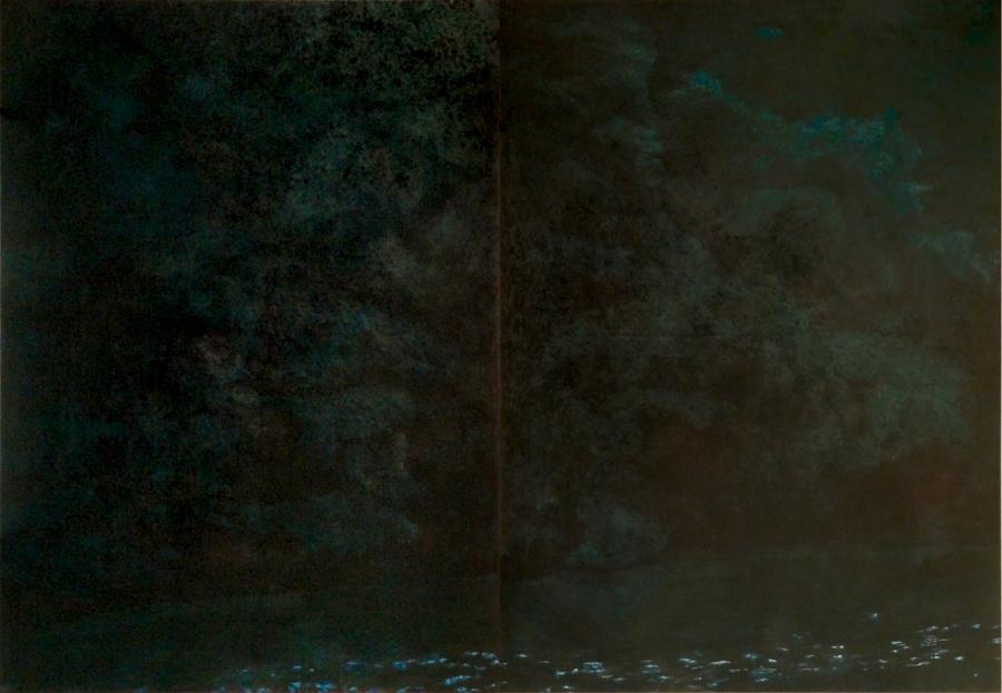 huile sur toile, 180x 260 cm, 2014