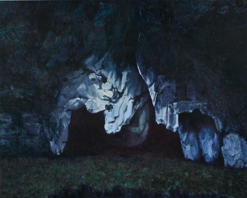 huile sur toile, 120 x 150 cm, 2014