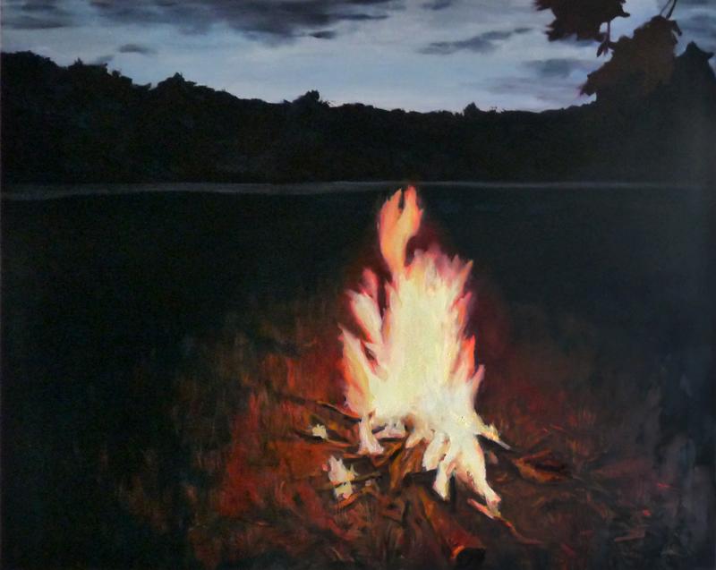 huile sur toile, 120 x 150 cm, 2015