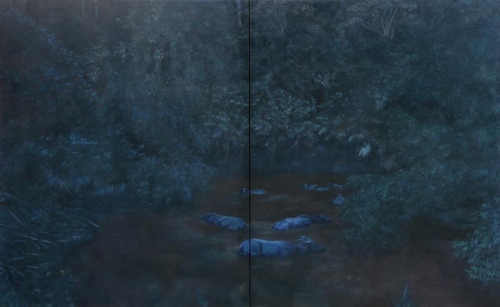 160x260 cm (dyptique), col. privée