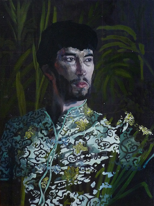 Autoportrait déguisé, 2015